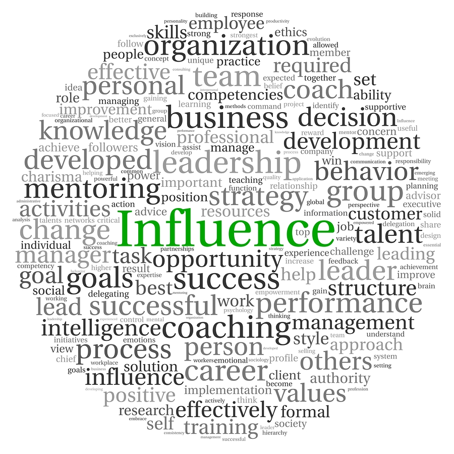 concept of influence in leadership 5 core concepts of leadership published on may 4, 2015 john ramstead, cplc, acc  think about that anybody who has influence over one other life and i would add onto that, influencing life.