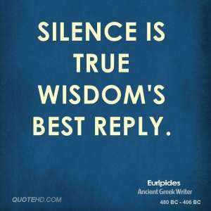 euripides-poet-silence-is-true-wisdoms-best