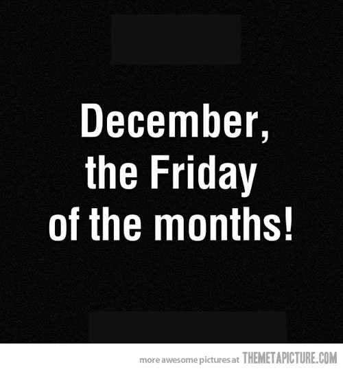 Funny December Quotes