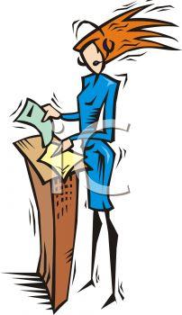 0511-1204-0312-1815_Woman_giving_a_presentation_at_a_lectern_clipart_imageBING080615